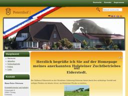 Holsteiner Zuchtbetrieb, Hans-Peter Petersen