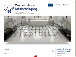 Manfred Labauve  Fliesenverlegung